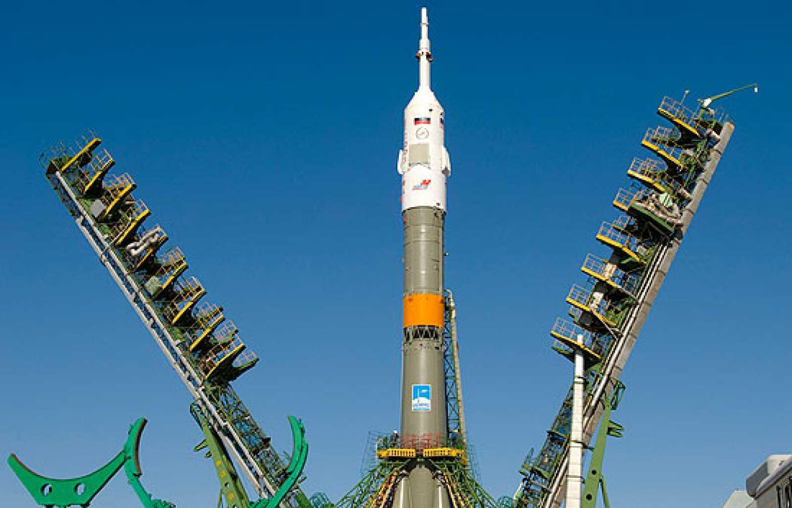 La Soyuz hacia la ISS