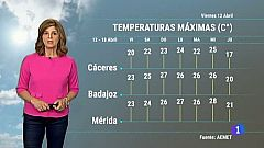 El Tiempo en Extremadura - 12/04/2019