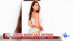 Lorena Durán, la primera modelo 'curvy' que ha hecho historia en Victoria Secret