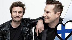"""Eurovisión 2019 - Darude y Sebastian Rejman (Finlandia): Videoclip de """"Look away"""""""