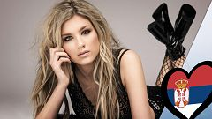 "Eurovisión 2019 - Nevena Bozovic (Serbia): Videoclip de ""Kruna"""