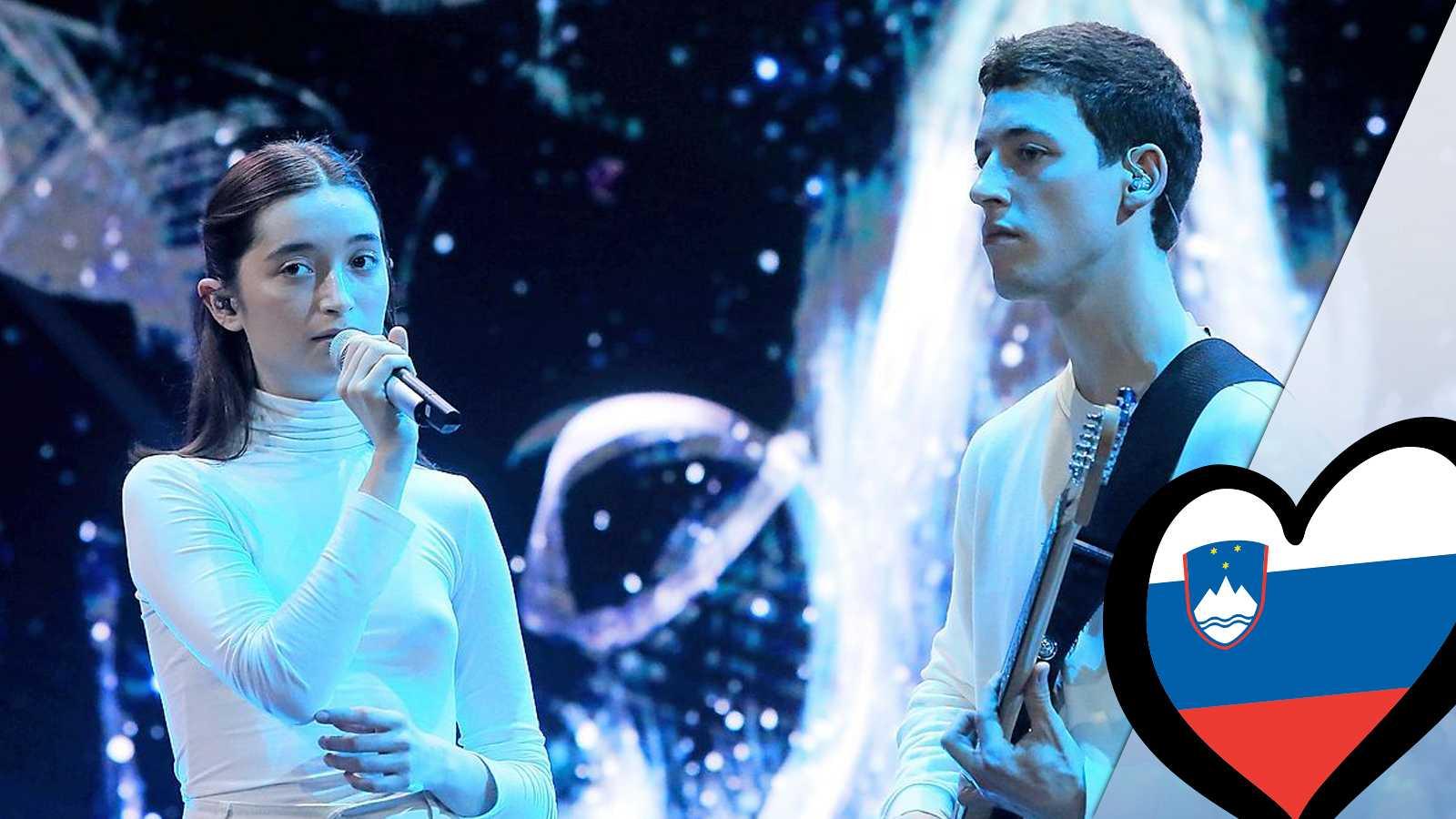 """Eurovisión 2019 - Zala Kralj & Gasper Santl (Eslovenia): Videoclip de """"Sebi"""""""