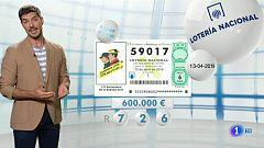 Lotería Nacional - 13/04/19