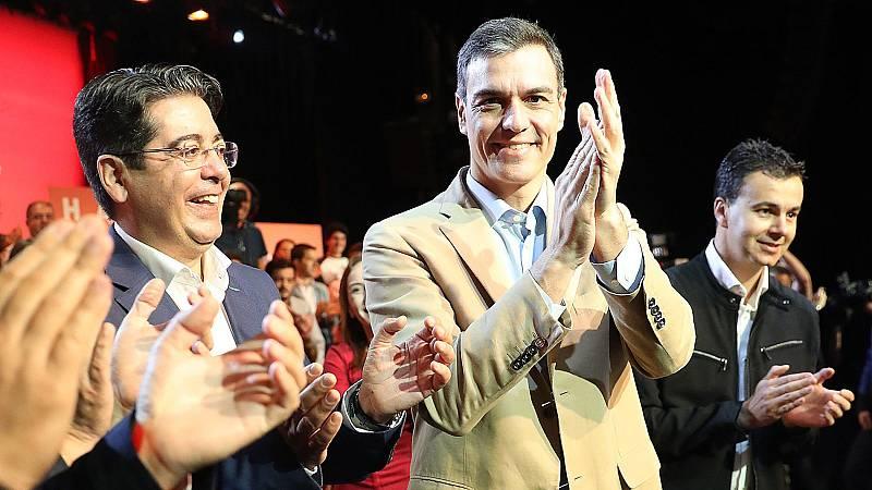 Sánchez asegura que el único partido que garantiza la convivencia y el progreso es el PSOE