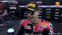 """Bautista: """"Ha sido un fin de semana increíble en una pista difícil para Ducati"""""""
