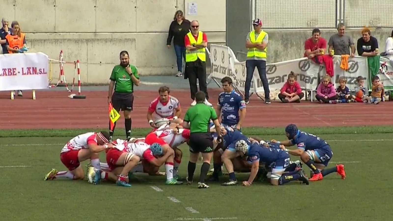 Rugby - Liga División de Honor Masculina. 22ª jornada: Ordizia RE - VRAC Valladolid - ver ahora