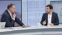Los desayunos de TVE - Alberto Garzón (Unidas Podemos), Jaume Asens (En Comú Podem) y Yolanda Díaz (En Común-Unidas Podemos)