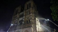Avance informativo - Incendio de la catedral de Notre Dame