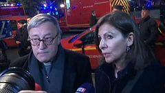 """La alcaldesa de París, Anne Hidago, sobre el incendio: """"Es una tristeza enorme"""""""