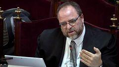 """Un abogado de Cuixart se queja de que a la Fiscalía se le """"tolere"""" preguntar de forma que ellos no pueden"""