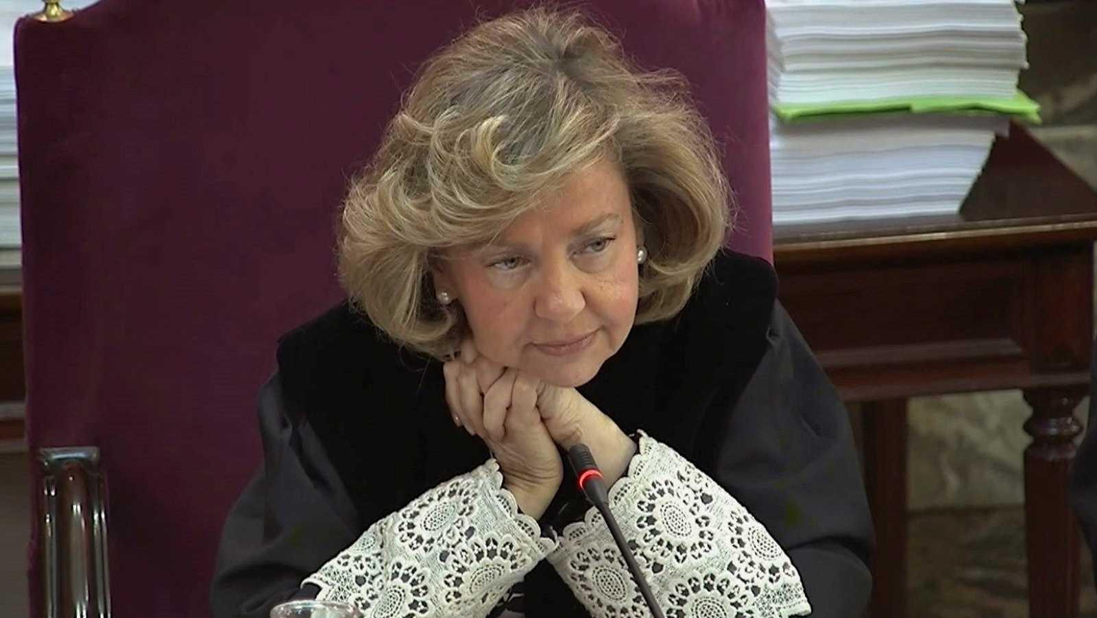 """La fiscal Consuelo Madrigal: """"Hay momentos en los que parece que estamos en un juicio contra la actuación policial"""""""