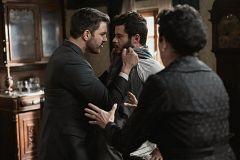 Telmo y Eduardo se enzarzan en una fuerte discusión