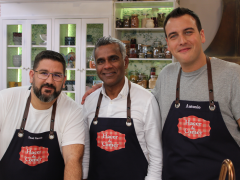 """El chef Nadeem Siraj, de """"Tandoori Station"""", visita """"Hacer de comer"""""""