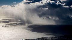 Aviso amarillo a 17 provincias con lluvias, tormentas, vientos y oleaje