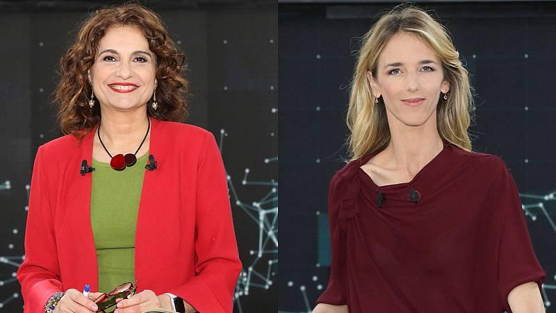 """Álvarez de Toledo a María Jesús Montero: """"Diga que no volverán a indultar a golpistas"""""""