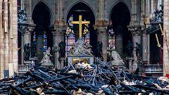 Macron pone un plazo de cinco años para reconstruir Notre Dame