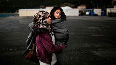 Mujeres en busca de refugio