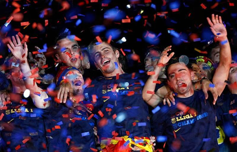 La canción del Coldplay ha sido el amuleto de la suerte de este Barça.