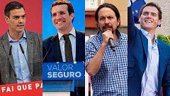 Elecciones generales 28A: El debate a cuatro, en RTVE