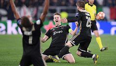El Ajax, a semifinales 22 años después y con 'vendetta' frente a la Juve