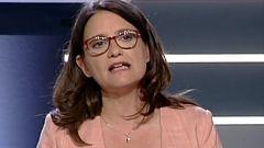 """Oltra: """"El que quiera los votos de Compromís tendrá que comprometerse con Valencia"""""""