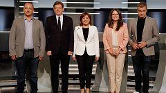 Minuto final de los candidatos a la Presidencia de la Generalitat Valenciana