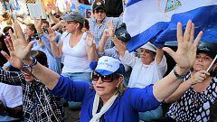 La protesta contra el presidente Daniel Ortega había sido prohibida