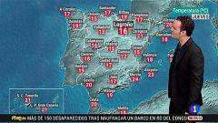 Fuertes lluvias en zonas del centro peninsular y la Comunidad Valenciana