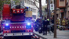 Una mujer y sus dos hijos menores mueren en el incendio de una vivienda en Hospitalet de Llobregat