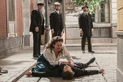 Cristóbal dispara a Samuel
