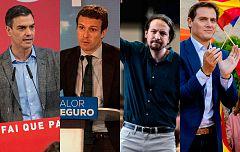 Debate a cuatro: RTVE propone el 23 de abril y PP, Cs y Podemos critican la fecha
