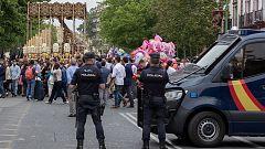 Más de 6.300 personas velarán en Sevilla por la seguridad de la Semana Santa