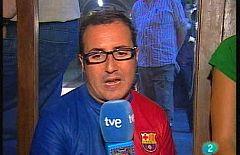 Disculpin la interrupció - El nostre reporter surt al carrer per viure el partit de la final de la Champions