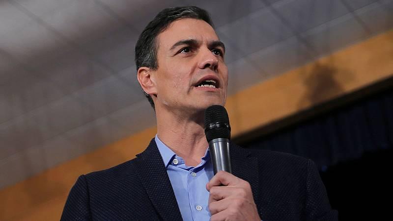 """Pedro Sánchez: """"El día 23 estaré en la cadena pública para debatir con quien quiera debatir"""""""