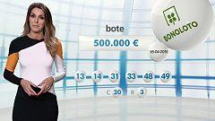 Lotería Nacional + La Primitiva + Bonoloto - 18/04/19