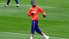 Diego Costa se excusa y vuelve a los entrenamientos del Atlético