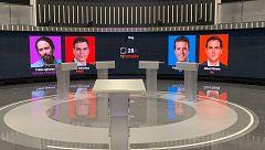 RTVE celebrará este lunes 22 su primer gran debate a cuatro de la campaña electoral