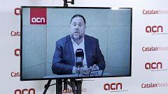 """Junqueras se abre a permitir la investidura de Sánchez: """"No facilitaremos un gobierno de extrema derecha"""""""