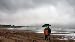 Fuertes precipitaciones en puntos del tercio oriental peninsular