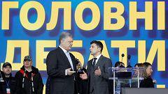 Poroshenko y Zelenski se disputan en segunda vuelta la Presidencia de Ucrania