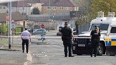 Dos detenidos por el asesinato de la periodista durante los disturbios en Irlanda del Norte