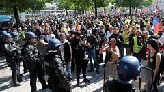 Gran despliegue policial en Francia en el XXIII sábado de protesta de los 'chalecos amarillos'