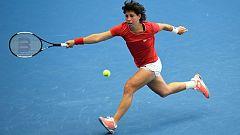 Tenis - Copa Federación. 2ª Ronda: Bélgica - España (2º partido individual)