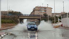 Precipitaciones fuertes en el sureste peninsular, y viento fuerte en el área mediterránea