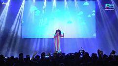 """Eurovisión 2019 - Lydia canta """"No quiero escuchar"""" en la Preparty"""