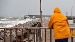 Fuerte viento y oleaje en el este peninsular