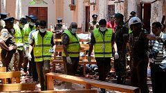 Más de doscientos muertos en una cadena de atentados en Sri Lanka