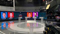 Los candidatos se enfrentan a su primer gran debate electoral a cuatro este lunes a las 22:00 en RTVE