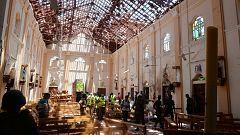 Más de 200 muertos y cientos de heridos en una serie de atentados en iglesias y hoteles de Sri Lanka