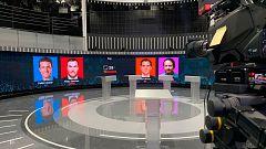 Todo preparado en RTVE para el debate entre los cuatro principales candidatos a las generales